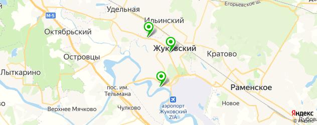 Доставка пиццы на карте Жуковского
