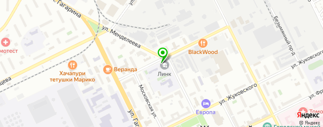 столовые на карте Жуковского