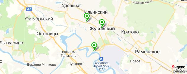 итальянские рестораны на карте Жуковского