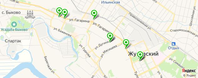 лаборатории анализов на карте Жуковского