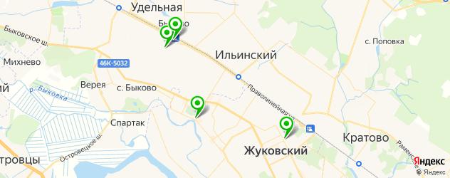 часовые мастерские на карте Жуковского