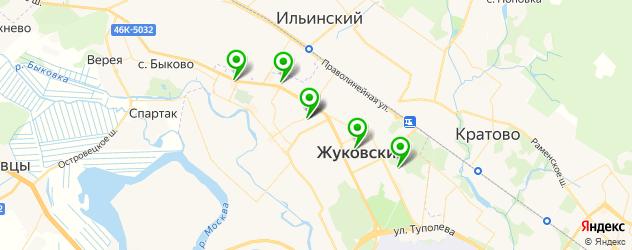 анализы на карте Жуковского