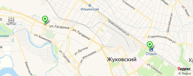 пекарни на карте Жуковского