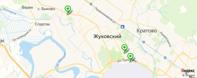 театры на карте Жуковского