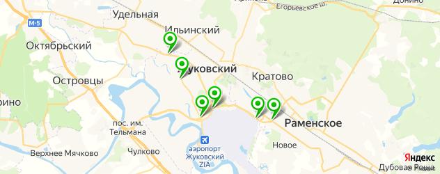 АЗСЫ на карте Жуковского