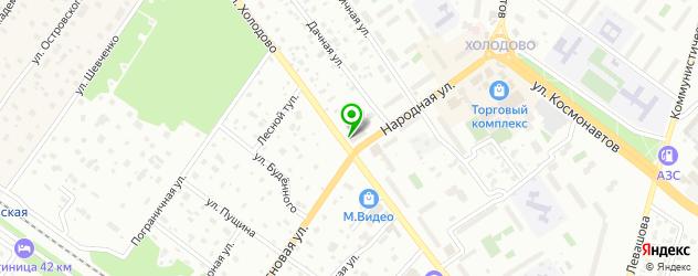 магазины автозвука на карте Раменского