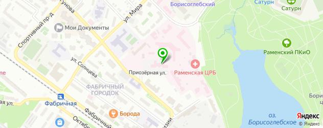 ортопедические магазины на карте Раменского