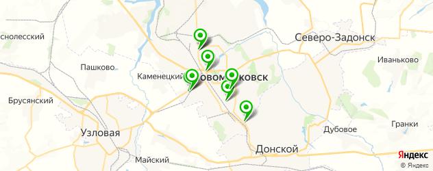 автосалоны на карте Новомосковска