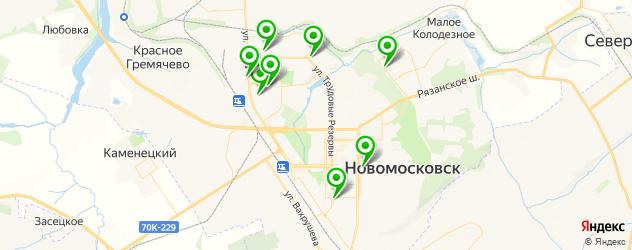 караоке на карте Новомосковска