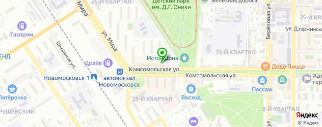 где купить парик на карте Новомосковска