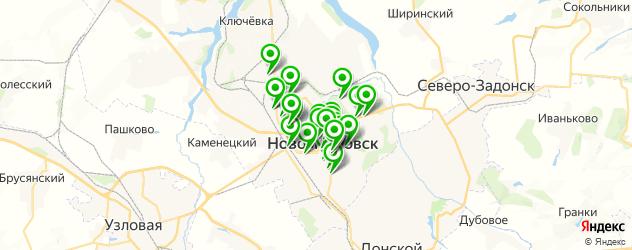 день рождения на карте Новомосковска