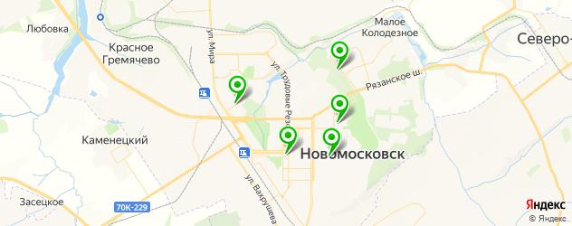 диагностические центры на карте Новомосковска