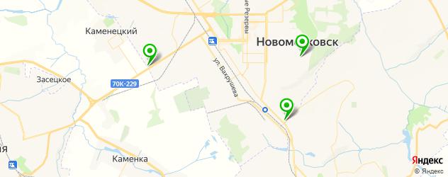 запчасти для ГБО на карте Новомосковска