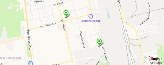 Развлечения на карте Электростали