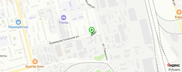 бильярд на карте Электростали