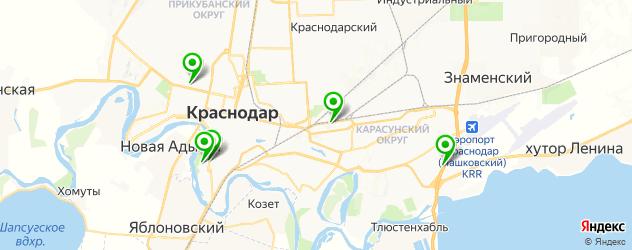 СПА отель на карте Краснодара