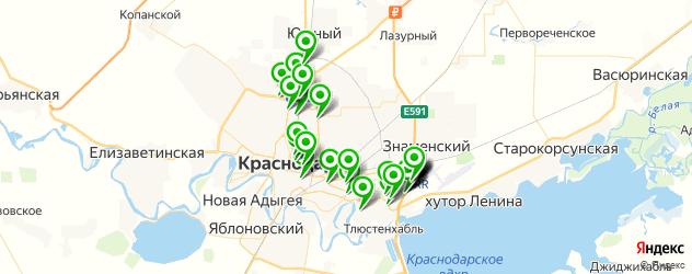 ремонт акпп на карте Краснодара