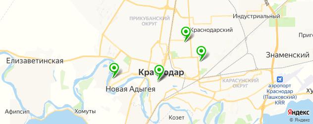 боди-арты салон на карте Краснодара