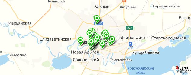 детская игровая комната на карте Краснодара