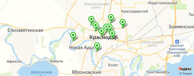 модельные агентства на карте Краснодара
