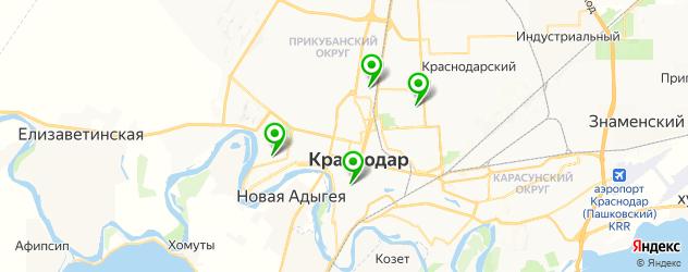 ионофорез на карте Краснодара