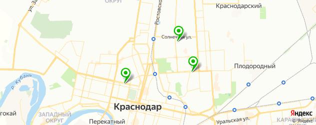 анализы на боррелиоз на карте Краснодара