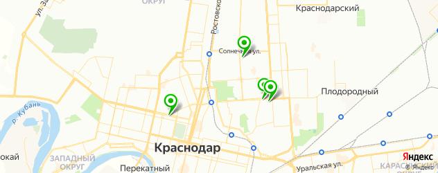 анализ на малярию на карте Краснодара