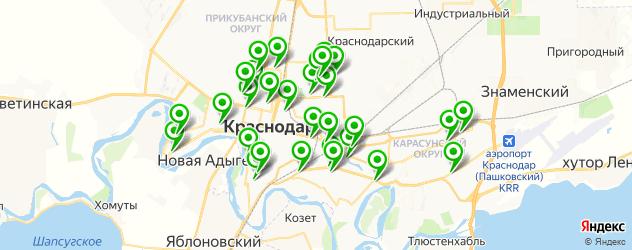 диагностические центры на карте Краснодара