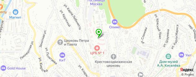 роддома на карте Туапсе