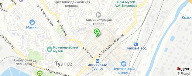 пирсинги салон на карте Туапсе