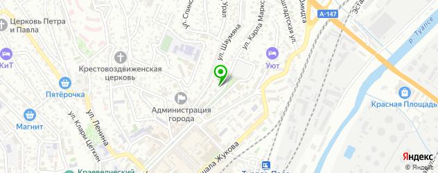 тату салон на карте Туапсе