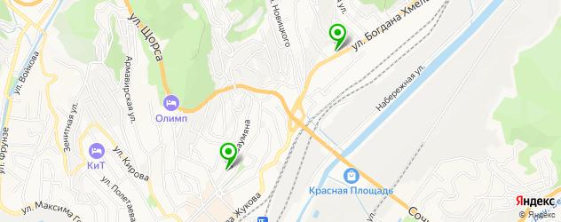 центры раннего развития на карте Туапсе