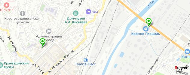 кинотеатры на карте Туапсе
