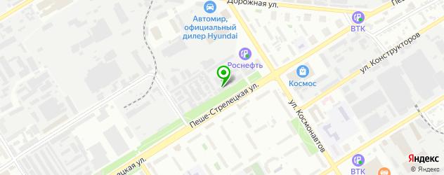 терминалы оплаты на карте Воронежа