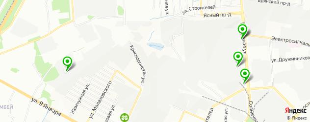 Оригинальные запчасти Инфинити на карте Воронежа
