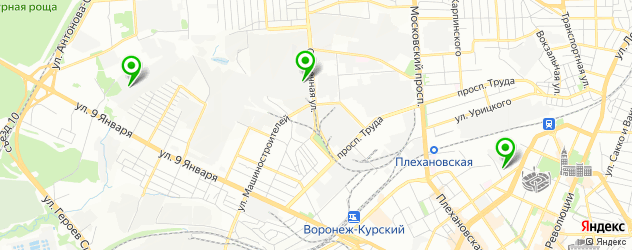 Ремонт акпп Фольксваген на карте Воронежа