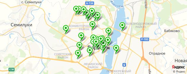 СПА салон на карте Воронежа