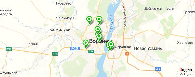 экспресс-укладка волос на карте Воронежа