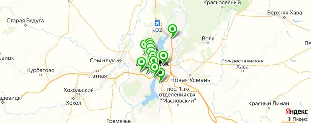 квесты на карте Воронежа