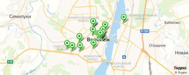 тату салон на карте Воронежа