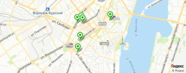 салоны бровей на карте Университетской площади