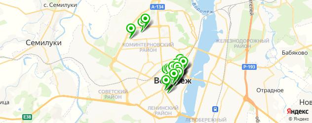 юбилей на карте Воронежа