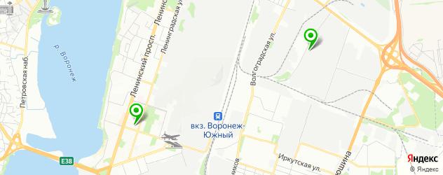 ремонт запотевания фар на карте Воронежа