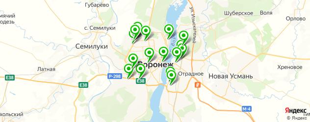 тюнинги-магазины на карте Воронежа