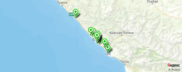банкоматы с функцией приема наличных на карте Сочи