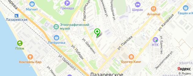 поликлиники на карте улицы Павловой