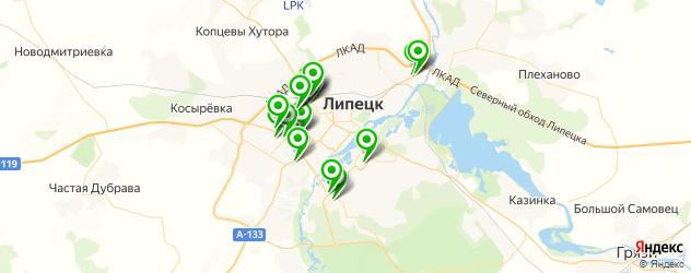 тюнинги-магазины на карте Липецка