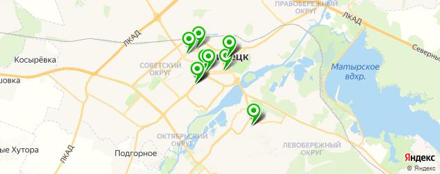 кадровые агентства на карте Липецка