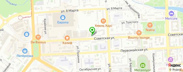 квесты на карте Липецка