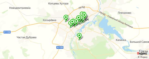 СПА салон на карте Липецка
